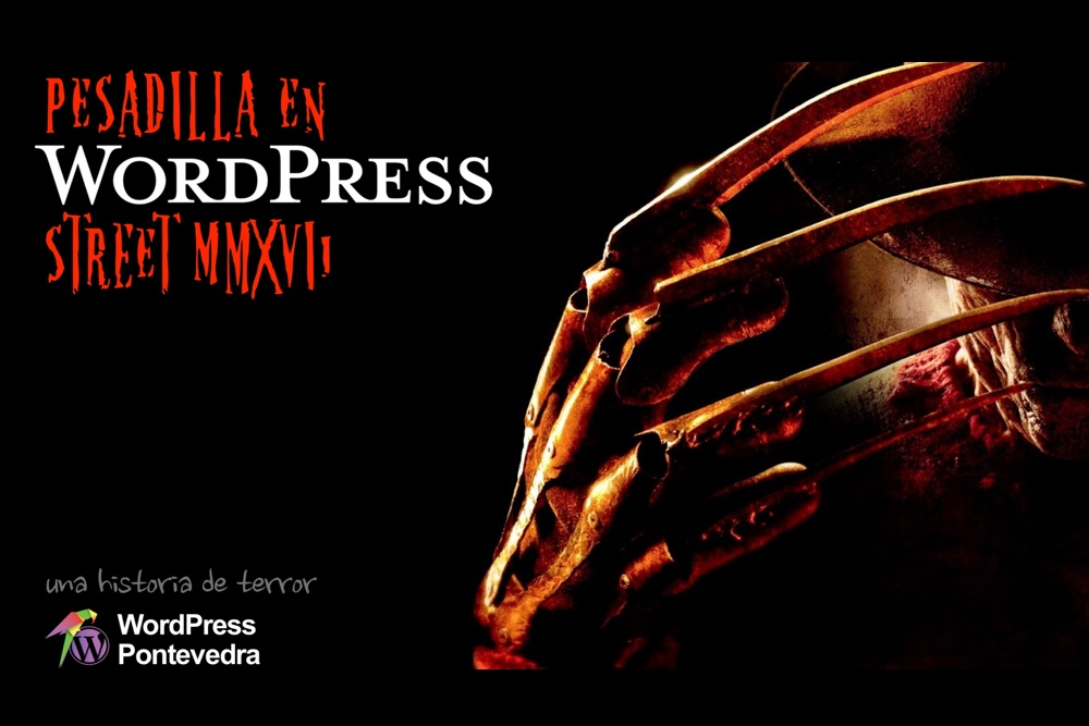 Una historia de terror con WordPress